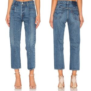 Levi's Altered Straight High Rise No Limits Seam